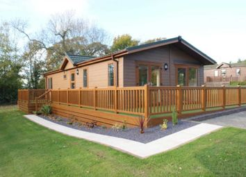 Thumbnail 2 bed lodge for sale in Pennant Park Golf Club, Whitford, Holywell, Flintshire.