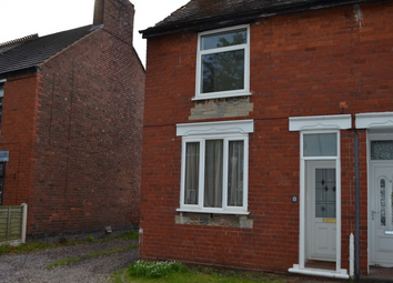 Thumbnail 2 bed end terrace house to rent in Lyndhurst Road, Cannock