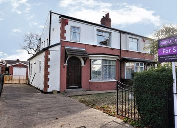 Thumbnail 3 bed semi-detached house for sale in Queensway, Leeds