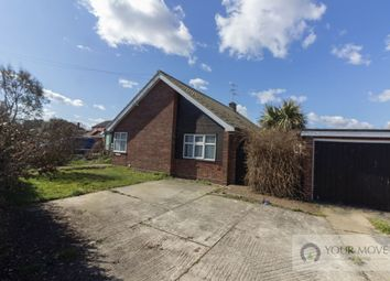 Thumbnail 3 bed bungalow for sale in The Street, Corton, Lowestoft