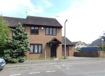 Thumbnail 3 bed end terrace house for sale in New Covenant Place, Rochester, Kent