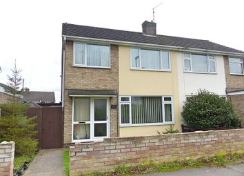 Thumbnail 3 bedroom semi-detached house for sale in Ashridge Walk, Yaxley, Peterborough