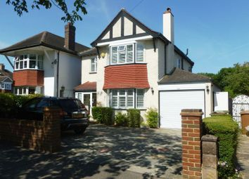 Thumbnail 4 bed detached house for sale in Banstead Road South, Sutton