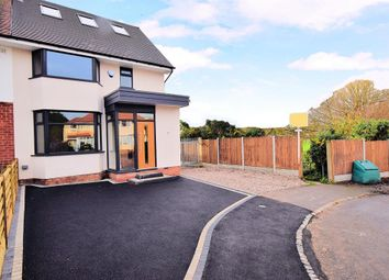 Thumbnail 4 bed semi-detached house for sale in Wentworth Road, Solihull