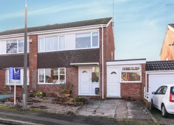 Thumbnail 3 bed semi-detached house for sale in Caynham Close, Redditch
