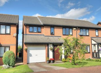 Thumbnail 4 bed semi-detached house for sale in The Glade, North Walbottle, Newcastle Upon Tyne