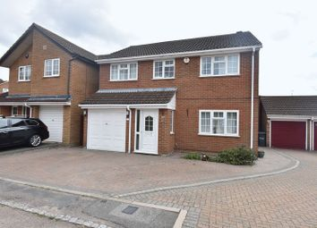 Thumbnail 4 bedroom detached house for sale in Thornage Close, Luton