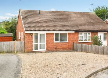 Thumbnail 2 bed semi-detached bungalow for sale in Acorn Way, Wigston, Leicester