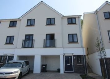 Thumbnail 3 bed end terrace house to rent in Webster Close, Newton Abbot