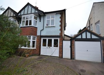 Thumbnail 3 bed semi-detached house for sale in Shanklin Drive, Leicester