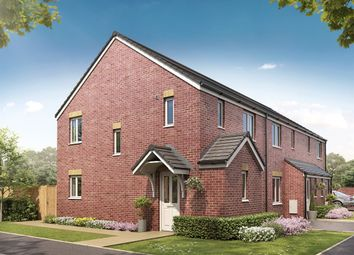 "Thumbnail 3 bed semi-detached house for sale in ""The Barton Corner"" at Silksworth Road, New Silksworth, Sunderland"