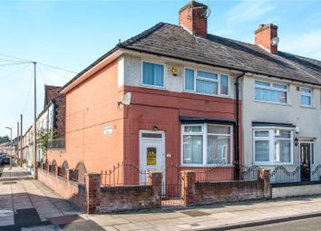 Thumbnail 3 bed end terrace house for sale in Glengariff Street, Liverpool, Merseyside
