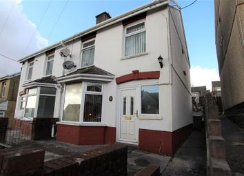 Thumbnail 3 bed semi-detached house for sale in Thomas Street, Gilfach Goch, Porth