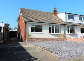 Thumbnail 2 bed semi-detached bungalow for sale in Hall Carr Lane, Walmer Bridge, Preston