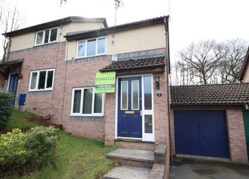 Thumbnail 2 bed semi-detached house for sale in Heol Ynys Ddu, Caerphilly