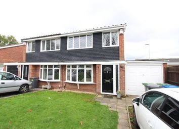 Thumbnail 3 bed semi-detached house for sale in Grassholme, Wilnecote, Tamworth