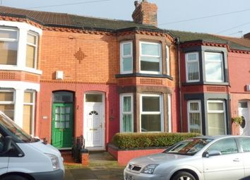 Thumbnail 3 bed terraced house to rent in Baytree Road, Birkenhead