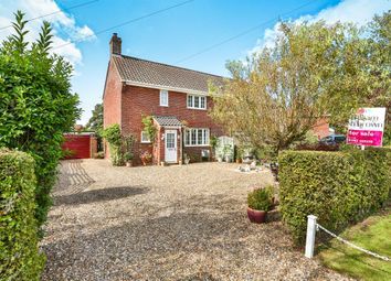 Thumbnail 3 bed semi-detached house for sale in The Grove, Barnham Broom, Norwich