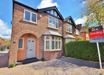 Thumbnail 3 bed semi-detached house to rent in Ella Road, West Bridgford