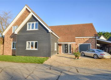 Thumbnail 4 bed detached house for sale in Top Road, Wimbish, Nr Saffron Walden, Essex