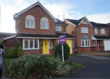 Thumbnail 4 bed detached house for sale in Hereford Way, Middlewich