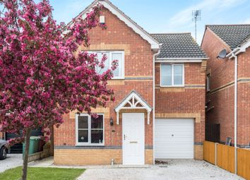 Thumbnail 3 bed detached house for sale in Maple Drive, Creswell, Worksop