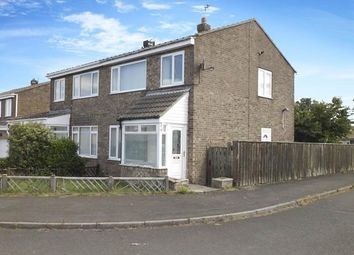 Thumbnail 3 bed semi-detached house to rent in Chevington Close, Pegswood, Morpeth