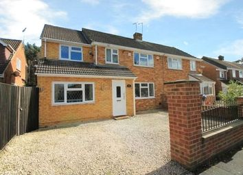 Thumbnail 5 bedroom semi-detached house for sale in College Crescent, College Town, Sandhurst