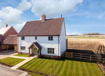 Thumbnail 4 bedroom detached house for sale in The Street, Stradishall, Newmarket, Suffolk