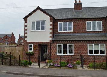 Thumbnail 3 bed semi-detached house for sale in Newcastle Road, Market Drayton