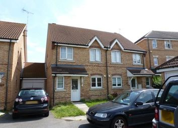 Thumbnail 3 bed semi-detached house to rent in Campion Road, Hatfield