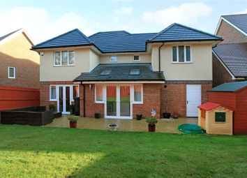 Thumbnail 4 bed detached house for sale in Applin Road, Bishopdown, Salisbury, Wiltshire
