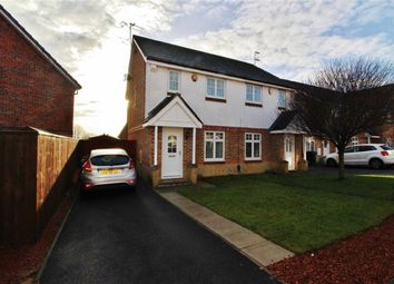 Thumbnail 2 bed semi-detached house for sale in Doddfell Close, Washington