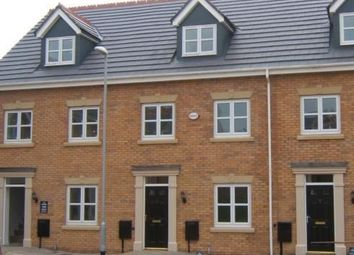 Thumbnail 3 bed town house for sale in Riseholme Close, Braunstone, Leicester