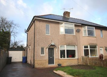 Thumbnail 2 bed semi-detached house for sale in Grange Avenue, Higherford, Lancashire