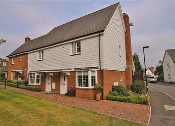 Thumbnail 2 bed end terrace house for sale in Bill Deedes Way, Aldington, Ashford