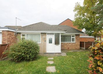 Thumbnail 1 bed detached bungalow for sale in Somerset Way, Woolston, Warrington