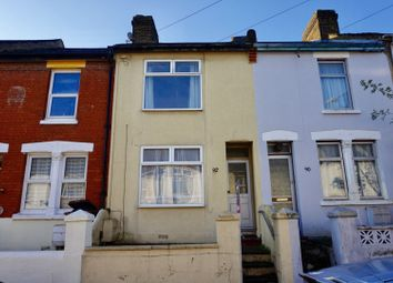 Thumbnail 3 bed terraced house for sale in Glencoe Road, Chatham