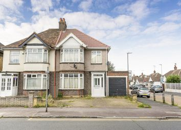Thumbnail 3 bed end terrace house to rent in East Road, Chadwell Heath, Romford