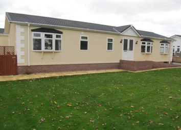 Thumbnail 3 bed mobile/park home for sale in Warren Park, Warrant Road, Market Drayton, Shropshire