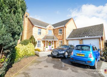 Thumbnail 4 bed detached house for sale in Wells Close, Cheshunt, Waltham Cross, Hertfordshire