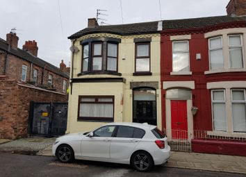 Thumbnail 3 bedroom end terrace house for sale in Wharncliffe Road, Liverpool