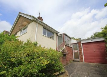 Thumbnail 2 bed detached bungalow for sale in Applegarth Avenue, Newton Abbot