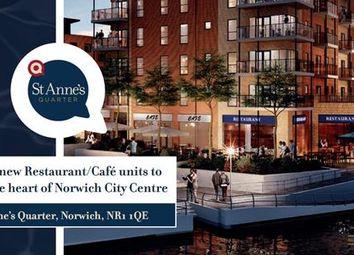 Thumbnail Restaurant/cafe to let in Unit 1, St Anne's Quarter, Riverside, Norwich