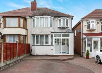 Thumbnail 3 bedroom semi-detached house for sale in Partridge Road, Birmingham, West Midlands