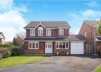 Thumbnail 4 bed detached house for sale in Cresswell Close, Halewood, Liverpool