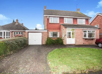 Thumbnail 3 bed detached house for sale in Long Furlong, Rugby