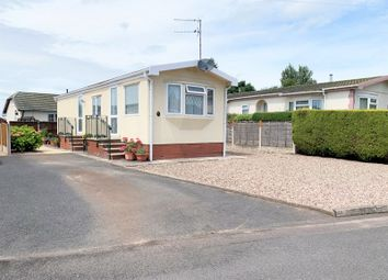 Thumbnail 2 bed mobile/park home for sale in Old Willow Road, Breton Park, Muxton, Telford