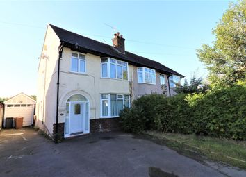 Thumbnail 3 bed semi-detached house for sale in Saughall Massie Lane, Upton