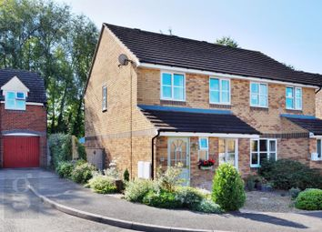 Thumbnail 3 bed semi-detached house for sale in Target Close, Ledbury